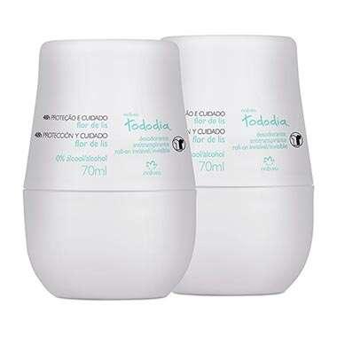 Kit Desodorante Antitranspirante Roll-on Flor de Lis Tododia
