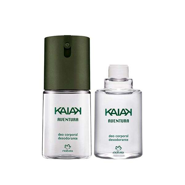 Kit Deo Kaiak Aventura Masculino