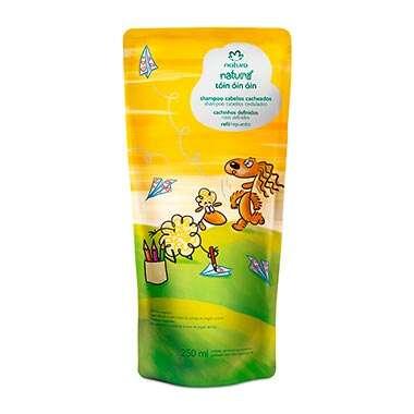 Resenha Natura Refil Tóin Óin Óin Shampoo Cabelos Cacheados Naturé - 250ml