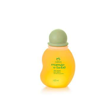 Resenha Natura Óleo Vegetal para Higiene Mamãe e Bebê - 100ml