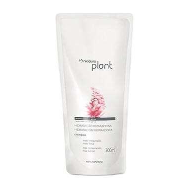 Resenha Natura Refil Shampoo Hidratação Reparadora Plant - 300ml