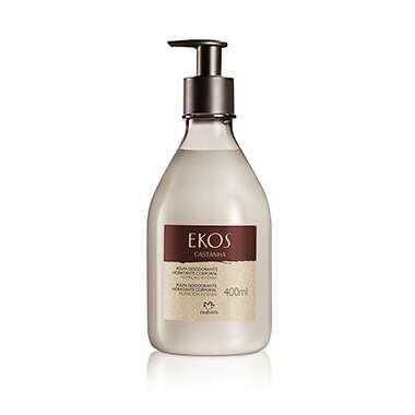 Resenha Natura Polpa Desodorante Hidratante Corporal Castanha Ekos - 400ml