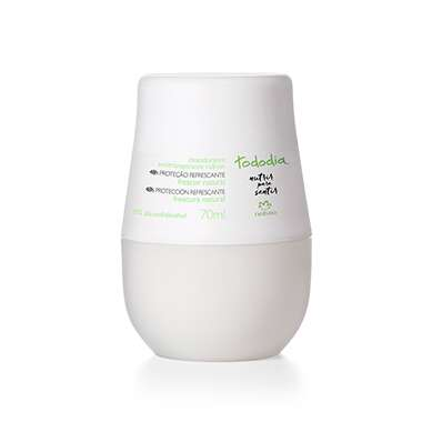 Resenha Natura Desodorante Antitranspirante Roll-on Frescor Natural Tododia Feminino - 70ml