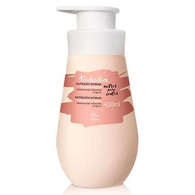 Resenha Natura Desodorante Hidratante Corporal Noz Pecã e Karité Pele Extrasseca Tododia - 400ml