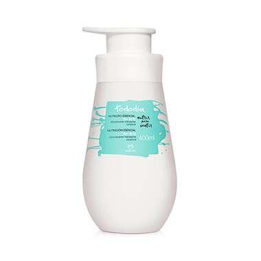 Resenha Natura Desodorante Hidratante Corporal Flor de Lis Pele Normal a Seca Tododia - 400ml