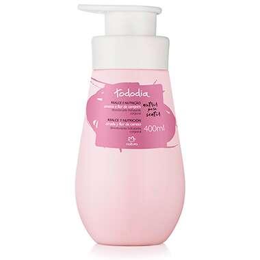 Resenha Natura Desodorante Hidratante Corporal Ameixa e Flor de Cerejeira Tododia - 400ml