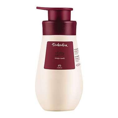 Resenha Natura Desodorante Hidratante Corporal Cereja e Avelã Pele Extrasseca Tododia - 400ml