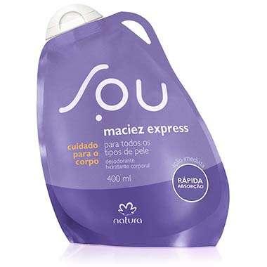 Resenha Natura Desodorante Hidratante Corporal Maciez Express SOU - 400ml