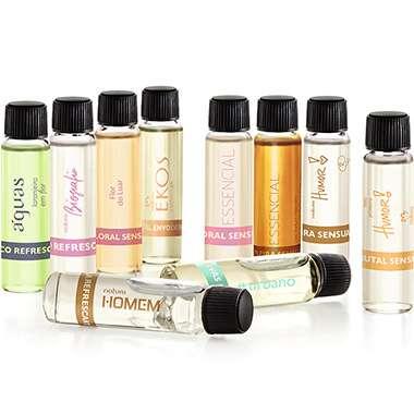 Resenha Natura Kit Demonstradores Perfumaria Especial II - 10un de 4ml cada