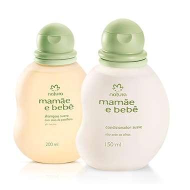 Resenha Natura Kit Mamãe e Bebê - Shampoo Suave 200ml + Condicionador Suave 150ml