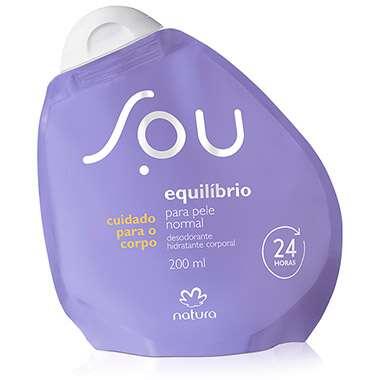 Resenha Natura Desodorante Hidratante Corporal Equil?brio para Pele Normal SOU - 200ml