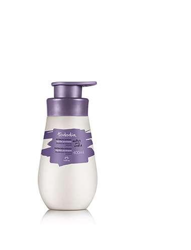 Resenha Natura Desodorante Hidratante Corporal Algod?o Envolvente Pele Seca Tododia - 400ml