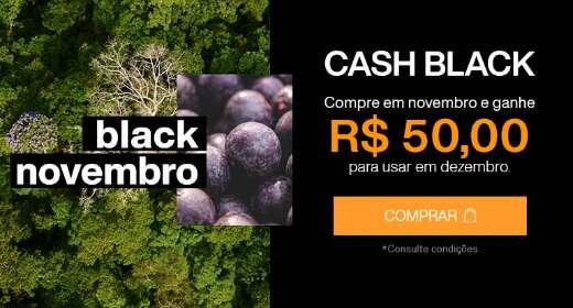 Comprou, ganhou! Compre qualquer produto na Black Novembro Natura e ganhe R$ 50 para usar em dezembro nas compras acima de R$ 99,00*