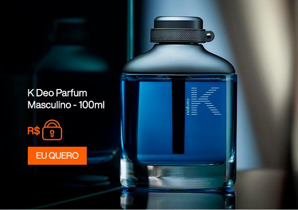 K Deo Parfum Masculino - 100ml. Eu Quero