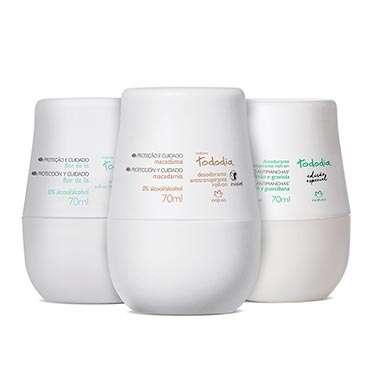Kit Tododia Desodorantes Roll-On