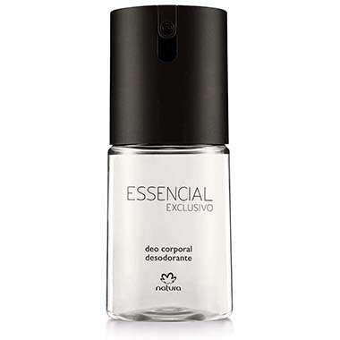 Deo Corporal Essencial Exclusivo Masculino – 100 ml