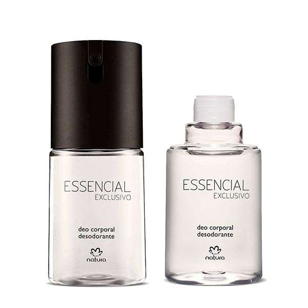 Kit Essencial Exclusivo Masculino Deo Corporal
