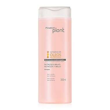 Shampoo Nutri??o e Brilho Plant - 300ml